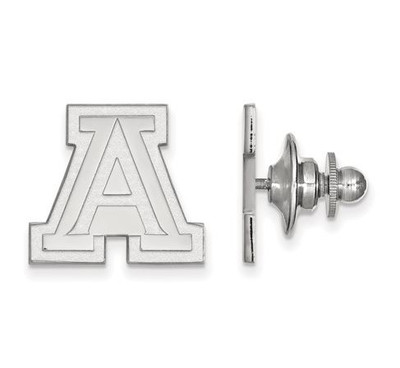 University of Arizona Sterling Silver Lapel Pin | Logo Art | SS009UAZ