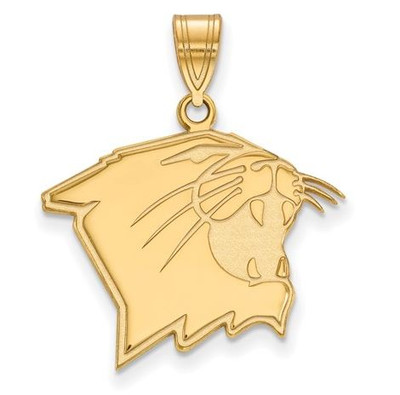 Northwestern University Wildcats 14k Yellow Gold Large Pendant | Logo Art | 4Y006NWU