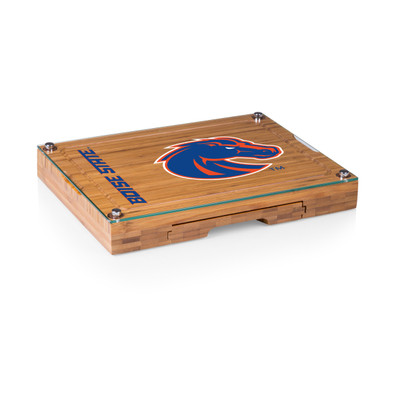 Boise State Broncos Concerto Bamboo Cutting Board | Picnic Time | 919-00-505-704-0