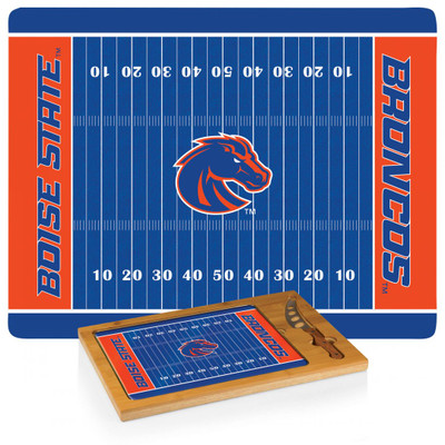 Boise State Broncos Icon Cheese Tray | Picnic Time | 910-00-505-704-0
