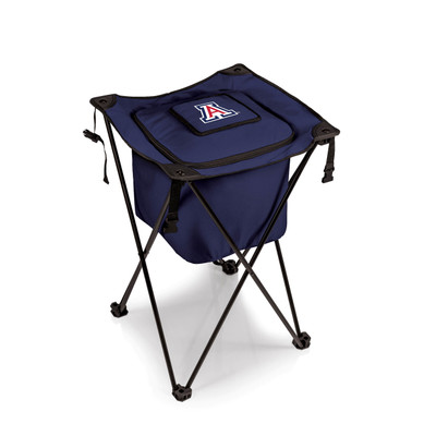 Arizona Wildcats Sidekick Portable Cooler - Navy  | Picnic Time | 779-00-138-014-0
