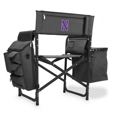 Northwestern Wildcats Fusion Tailgating Chair | Picnic Time | 807-00-679-434-0