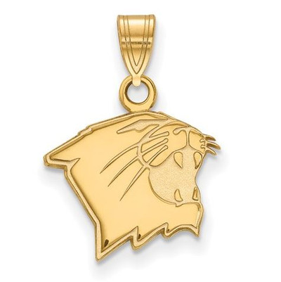 Northwestern University 10k Yellow Gold Small Pendant | Logo Art | 1Y005NWU