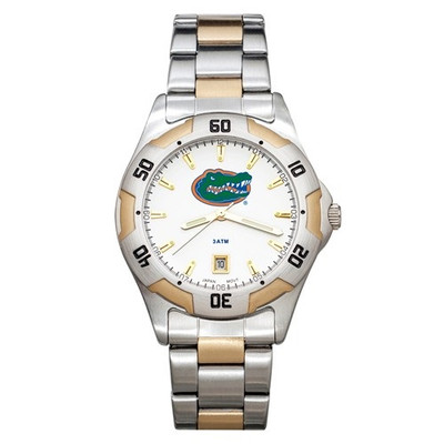 Florida Gators Men's All-Pro Men's Two-Tone Watch   Logo Art   UFL153