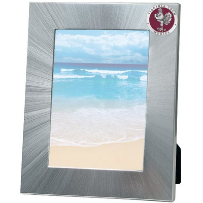 Virginia Tech Hokies 5x7 Picture Frame | Heritage Pewter | FR10162ERLG