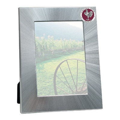 Virginia Tech Hokies 4x6 Picture Frame | Heritage Pewter | FR10162ERMD