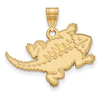 TCU 14k Yellow Gold Large Pendant | Logo Art | 4Y031TCU