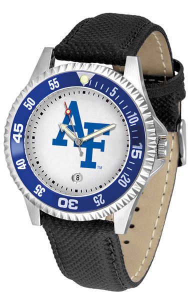 Air Force Academy Competitor Sport Leather Watch | SunTime | ST-CO3-AFF-COMP