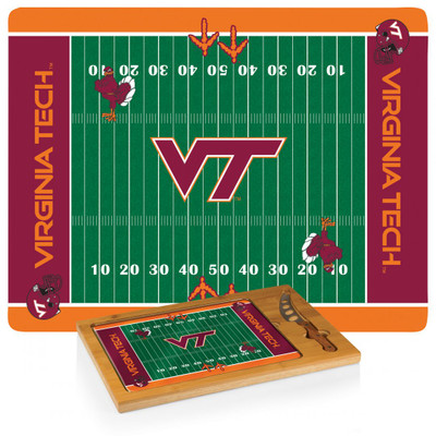 Virginia Tech Hokies Icon Cheese Tray | Picnic Time | 910-00-505-604-0