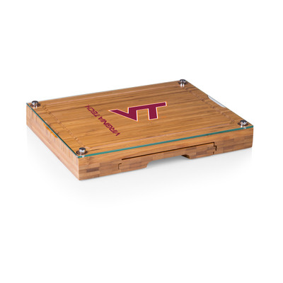 Virginia Tech Hokies Concerto Bamboo Cutting Board | Picnic Time | 919-00-505-604-0