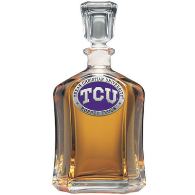 TCU Horned Frogs Capitol Decanter | Heritage Pewter | CPT10270EP
