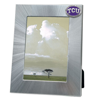 TCU Horned Frogs 5x7 Picture Frame | Heritage Pewter | FR10270EPLG