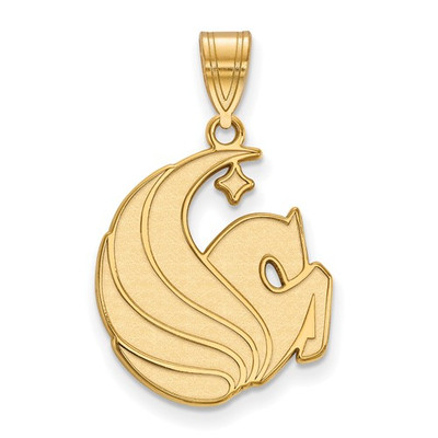 University of Central Florida 14k Yellow Gold Large Pendant | Logo Art | 4Y027UCF