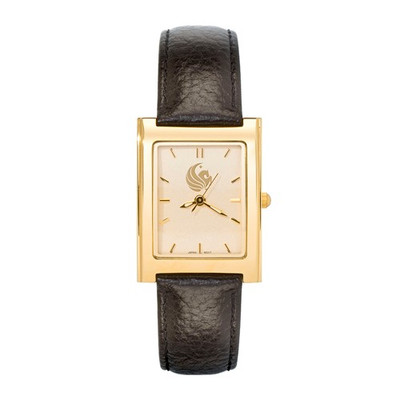 UCF Pegasus Woman's SQ Dress Leather Watch | Logo Art | UCF128
