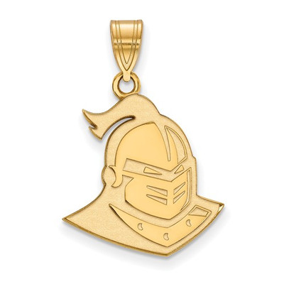 UCF Knights 14k Yellow Gold Large Pendant | Logo Art | 4Y029UCF