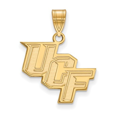 University of Central Florida 14k Yellow Gold Medium Pendant | Logo Art | 4Y003UCF