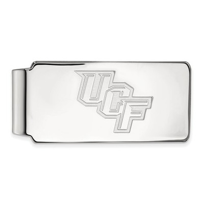 University of Central Florida 14k White Gold Money Clip | Logo Art | 4W017UCF