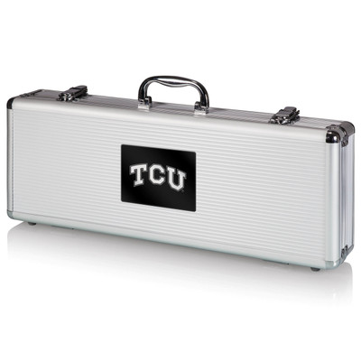 TCU Horned Frogs Herd Grill Set | Picnic Time | 681-00-179-843-0