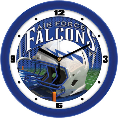 Air Force Academy Football Helmet Wall Clock | SunTime | ST-CO3-AFF-HWCLOCK
