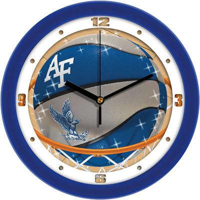Air Force Academy Slam Dunk Wall Clock | SunTime | ST-CO3-AFF-SDCLOCK