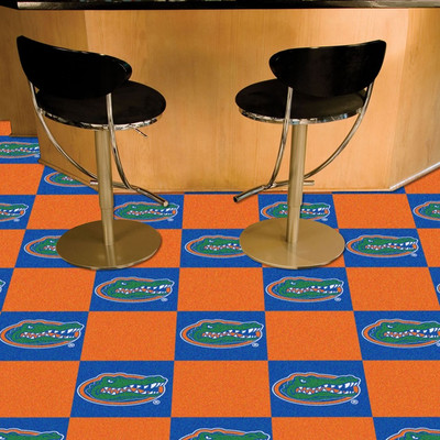 Florida Gators Carpet Tiles   Fanmats   8511