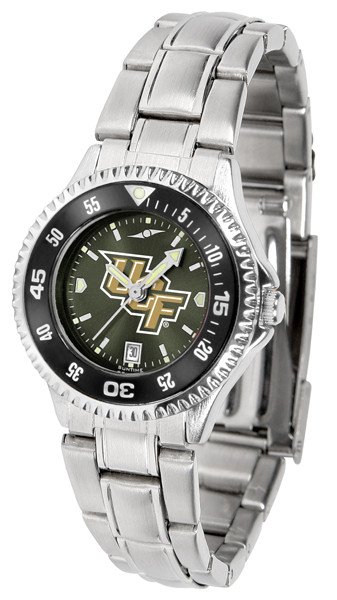 UCF Knights Ladies Competitor Steel AnoChrome Watch with Color Bezel | SunTime | ST-CO3-UCF-COMPLM-AC