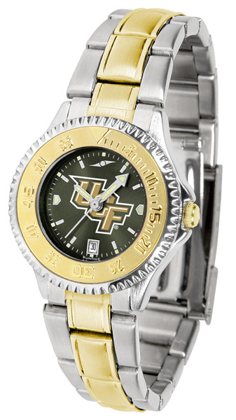 UCF Knights Ladies Competitor Two-Tone AnoChrome Watch | SunTime | st-co3-ucf-complmg-a