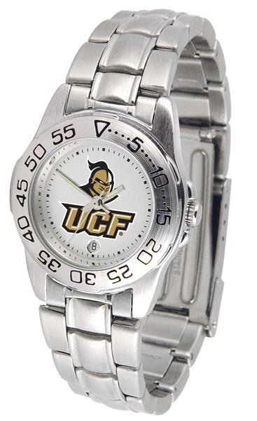 UCF Knights Ladies Sport Steel Watch | SunTime | ST-CO3-UCF-SPORTLM
