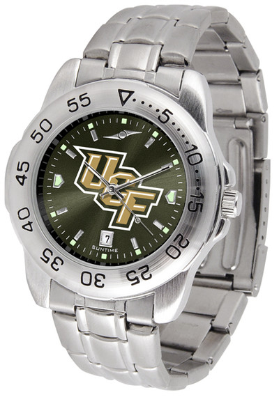 UCF Knights Men's Sport Steel AnoChrome Watch | SunTime | ST-CO3-UCF-SPORTM-A