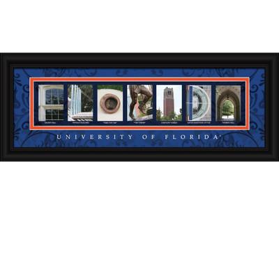 Florida Gators Campus Letter Art | Get Letter Art | CLAL1B18FLOR