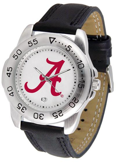 Alabama Crimson Tide Men's Sport Leather Watch | SunTime | ST-CO3-ACT-SPORT2