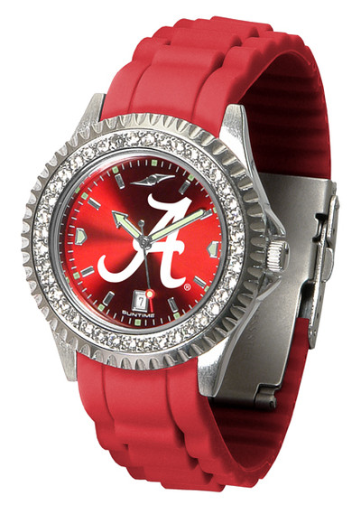 Alabama Crimson Tide Ladies Sparkle Watch | SunTime | ST-CO3-ACT-SPARKLE