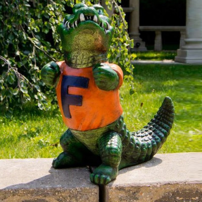 Florida Gators Mascot Garden Statue | Stonecasters | 2782HT