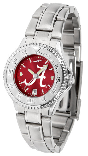 Alabama Crimson Tide Ladies Competitor Steel AnoChrome Watch | SunTime | st-co3-act-complm-a
