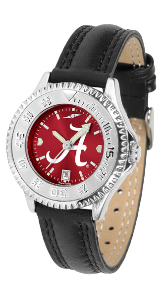 Alabama Crimson Tide Ladies Competitor AnoChrome Watch | SunTime | ST-CO3-ACT-COMPL-A