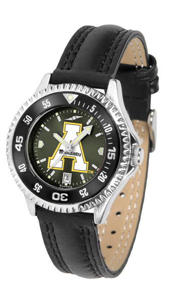 Appalachian State Mountaineers Ladies Competitor AnoChrome Watch with Color Bezel | SunTime | ST-CO3-ASM-COMPL-AC