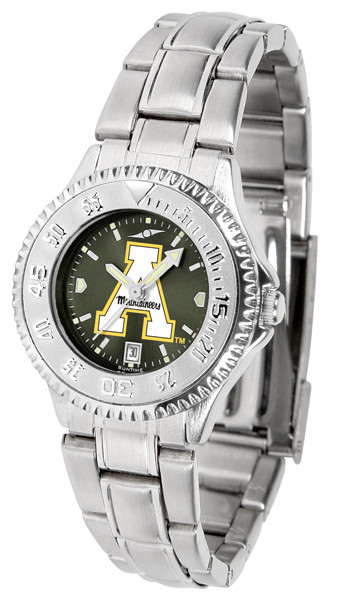 Appalachian State Mountaineers Ladies Competitor Steel AnoChrome Watch | SunTime | st-co3-asm-complm-a