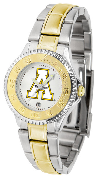 Appalachian State Mountaineers Ladies Competitor Two-Tone Watch | SunTime | ST-CO3-ASM-COMPLMG