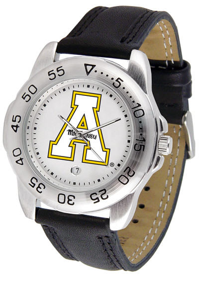 Appalachian State Mountaineers Men's Sport Leather Watch | SunTime | ST-CO3-ASM-SPORT2