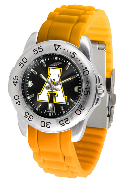 Appalachian State Mountaineers Men's Sport AC AnoChrome Watch | SunTime | ST-CO3-ASM-SPORT-AC