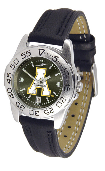 Appalachian State Mountaineers Ladies Sport Leather AnoChrome Watch | SunTime | ST-CO3-ASM-SPORTL-A