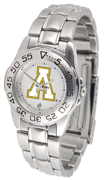 Appalachian State Mountaineers Ladies Sport Steel Watch | SunTime | ST-CO3-ASM-SPORTLM