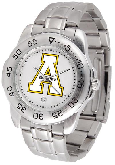 Appalachian State Mountaineers Men's Sport Steel Watch   SunTime   ST-CO3-ASM-SPORTM