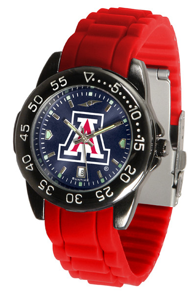 Arizona Wildcats Men's Fantom Sport AC AnoChrome Watch | SunTime | ST-CO3-AZW-FANTOM-AC