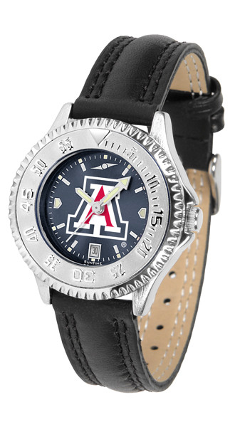 Arizona Wildcats Ladies Competitor AnoChrome Watch | SunTime | ST-CO3-AZW-COMPL-A
