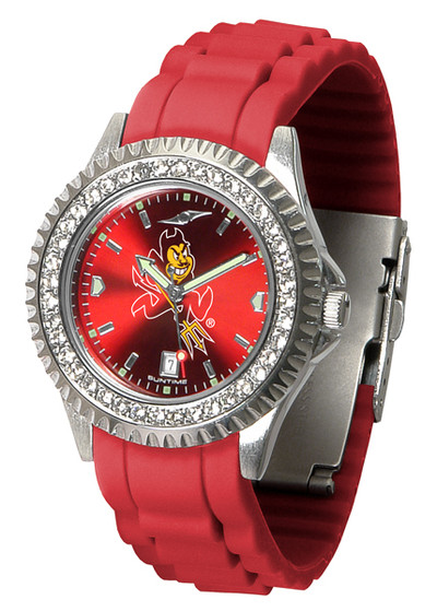 Arizona State Sun Devils Ladies Sparkle Watch | SunTime | ST-CO3-ASD-SPARKLE