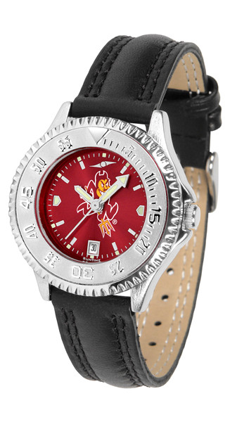 Arizona State Sun Devils Ladies Competitor AnoChrome Watch   SunTime   ST-CO3-ASD-COMPL-A