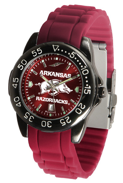 Arkansas Razorbacks Men's Fantom Sport AC AnoChrome Watch | SunTime | ST-CO3-ARR-FANTOM-AC