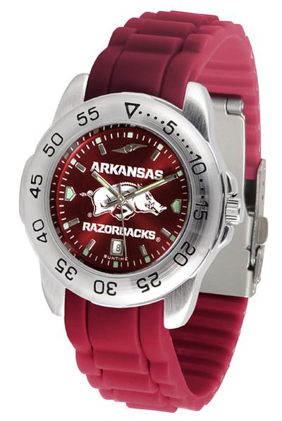 Arkansas Razorbacks Men's Sport AC AnoChrome Watch | SunTime | ST-CO3-ARR-SPORT-AC