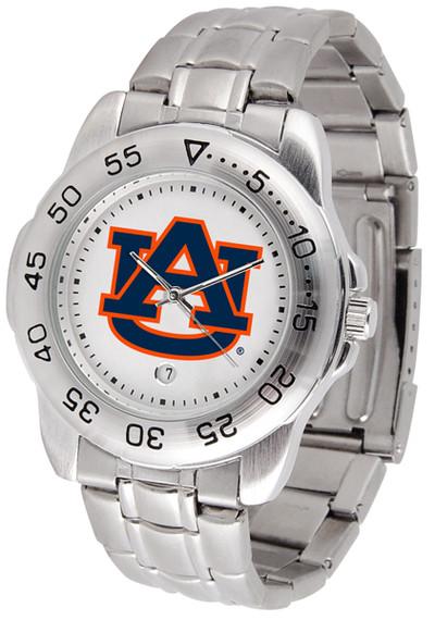 Auburn Tigers Men's Sport Steel Watch | SunTime | ST-CO3-AUT-SPORTM